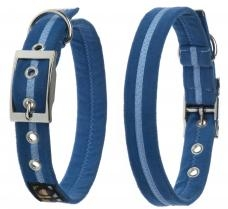 Oscar & Hooch Halsband Größe L 41cm - 51cm Royal Blue