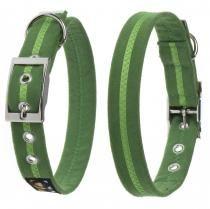 Oscar & Hooch Halsband Größe M 33cm - 43cm Apple Green