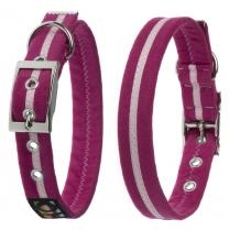 Oscar & Hooch Halsband Größe M 33cm - 43cm Hot Pink