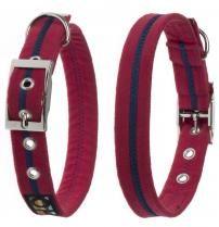Oscar & Hooch Halsband Größe M 33cm - 43cm Bold Red