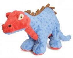 Go Dog Dino Blue Spike with Chew Guard Large