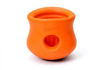 WestPaw Hundespielzeug Zogoflex  Toppl L orange 10cm