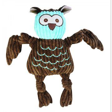 Hugglehounds Knottie with Tuffut Technology Owl Mini