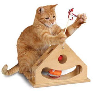 StarMark Tick Tock Teaser Katzenspielzeug
