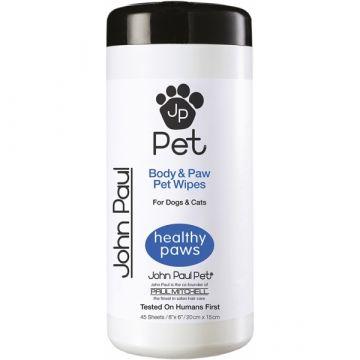 Jean Paul Pet Full Body & Paw Bath Wipes 45 Stück