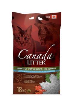 Canada Litter Katzenstreu mit Babypuder 18kg