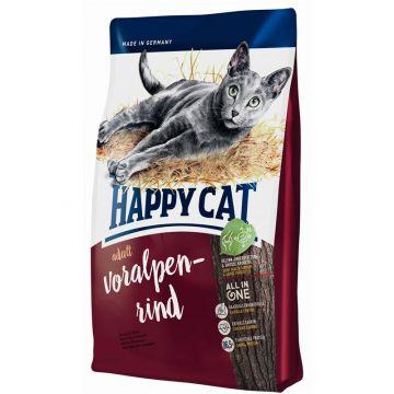 Happy Cat Adult Voralpen-Rind 12x50g Probenkarton