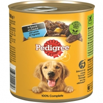 Pedigree Dose Adult Lamm,Gemüse & Nudeln 800g (Menge: 12 je Bestelleinheit)