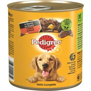 Pedigree Dose Adult Rind,Gemüse &  Nudeln 800g (Menge: 12 je Bestelleinheit)