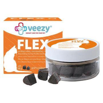 veezy Cat Flex Katzensnacks 28 Stück/68 g Dose