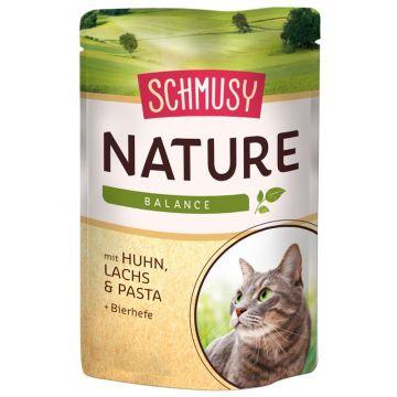 Schmusy Natures Menü Huhn und Lachs 100g (Menge: 24 je Bestelleinheit)