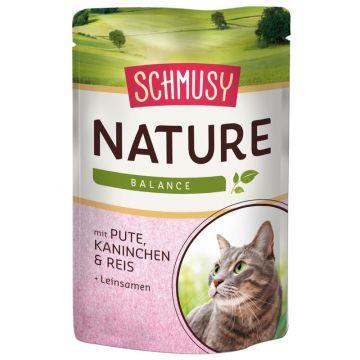 Schmusy Nature Balance FB Pute und Kaninchen 100g (Menge: 24 je Bestelleinheit)