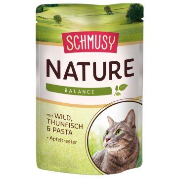 Schmusy Nature Frischebeutel Wild und Thunfisch 100g (Menge: 24 je Bestelleinheit)
