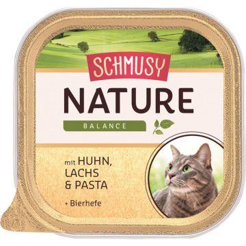 Schmusy Natures Menü Huhn & Lachs 100g (Menge: 16 je Bestelleinheit)