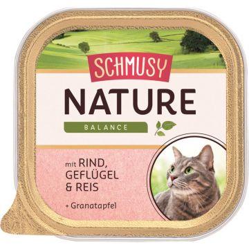 Schmusy Nature Balance FB Rind & Geflügel 100g (Menge: 16 je Bestelleinheit)