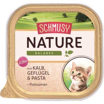 Schmusy Natures Menü Kitten Kalb 100g (Menge: 16 je Bestelleinheit)