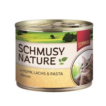 Schmusy Natures Huhn & Lachs 190g (Menge: 12 je Bestelleinheit)