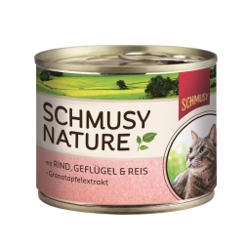 Schmusy Dose Natures Menü Rind & Geflügel 190g (Menge: 12 je Bestelleinheit)