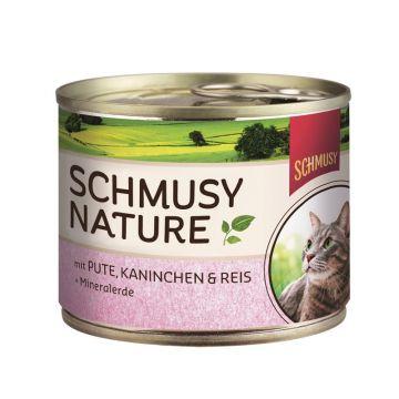 Schmusy Dose Natures Menü Pute & Kaninchen 190g (Menge: 12 je Bestelleinheit)
