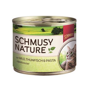 Schmusy Dose Natures Menü Wild & Thunfisch 190g (Menge: 12 je Bestelleinheit)