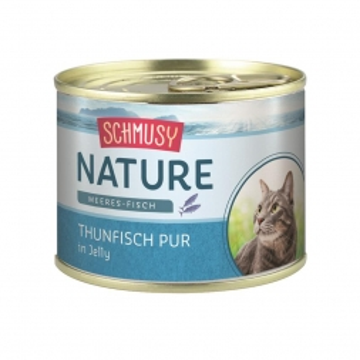 Schmusy Nature Meeres-Fisch Thunfisch pur 185g Dose (Menge: 12 je Bestelleinheit)