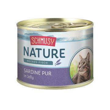 Schmusy Nature Meeres-Fisch Dose Sardine pur 185g  (Menge: 12 je Bestelleinheit)