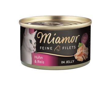 Miamor Dose Feine Filets Huhn & Reis 100 g (Menge: 24 je Bestelleinheit)