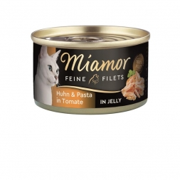 Miamor Dose Feine Filets Huhn & Pasta 100 g (Menge: 24 je Bestelleinheit)