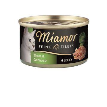Miamor Dose Feine Filets Heller Thunfisch & Gemüse 100 g (Menge: 24 je Bestelleinheit)