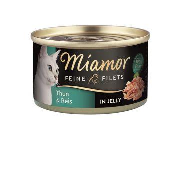 Miamor Dose Feine Filets Heller Thunfisch & Reis 100 g (Menge: 24 je Bestelleinheit)