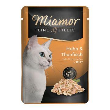 Miamor Feine Filets Huhn & Thun 100g (Menge: 24 je Bestelleinheit)