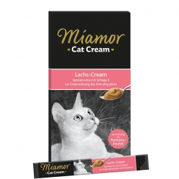 Miamor Snack Lachs-Cream 6 x 15 g (Menge: 11 je Bestelleinheit)