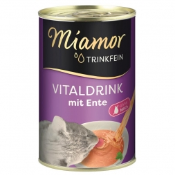 Miamor Trinkfein Vitaldrink mit Ente 135ml (Menge: 24 je Bestelleinheit)