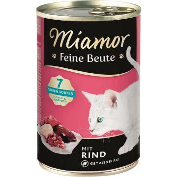 Miamor Dose Feine Beute Rind 400 g (Menge: 12 je Bestelleinheit)