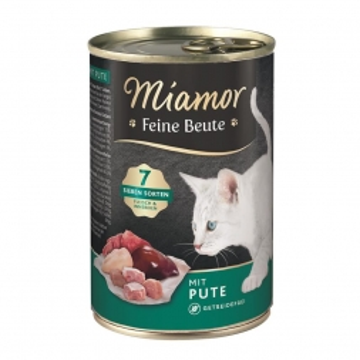 Miamor Dose Feine Beute Pute 400 g (Menge: 12 je Bestelleinheit)