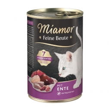 Miamor Dose Feine Beute Ente 400 g (Menge: 12 je Bestelleinheit)