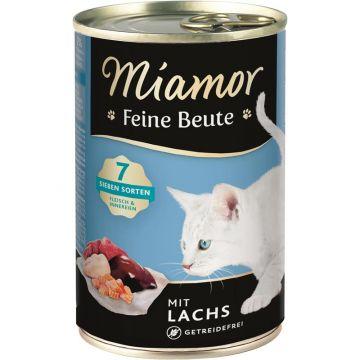 Miamor Dose Feine Beute Lachs 400 g (Menge: 12 je Bestelleinheit)