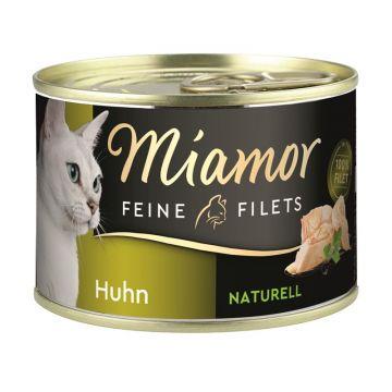 Miamor Dose Feine Filets Naturelle Huhn 156g (Menge: 12 je Bestelleinheit)