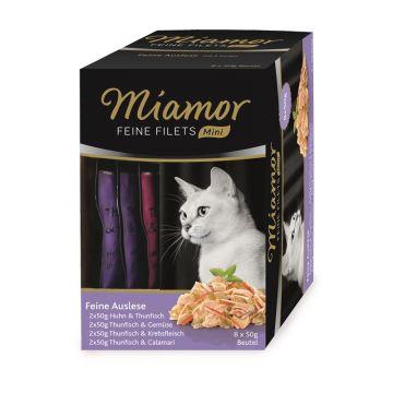 Miamor Feine Filets Mini Multibox Feine Auslese 8x50g (Menge: 4 je Bestelleinheit)