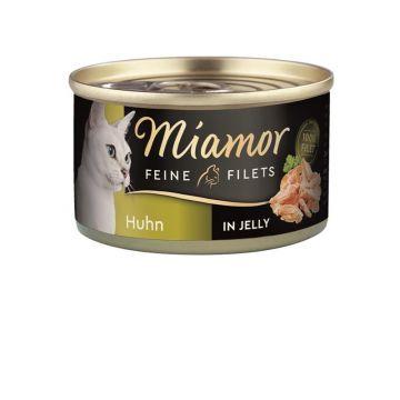 Miamor Dose Feine Filets Huhn in Jelly 100 g (Menge: 24 je Bestelleinheit)