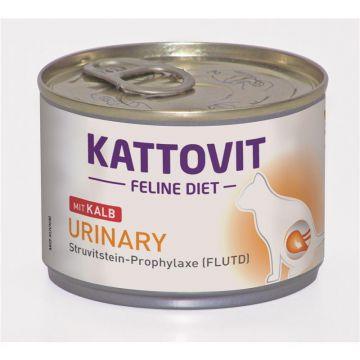 Kattovit Dose Feline Diet Urinary Low Magnesium Kalb 175g (Menge: 12 je Bestelleinheit)