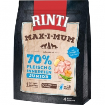 RINTI MAX-I-MUM Junior Huhn 4kg
