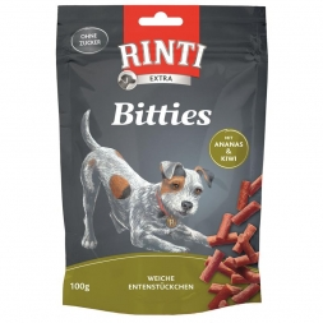 Rinti Extra Bitties Ente & Ananas 100g (Menge: 12 je Bestelleinheit)