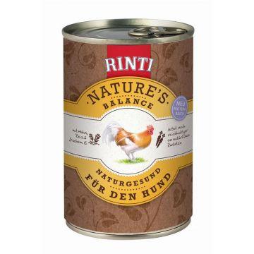 Rinti Natures Balance Huhn & Reis 400g (Menge: 12 je Bestelleinheit)