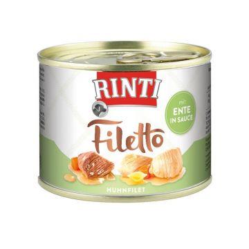 Rinti Dose Filetto Huhn & Ente in Sauce 210g  (Menge: 12 je Bestelleinheit)