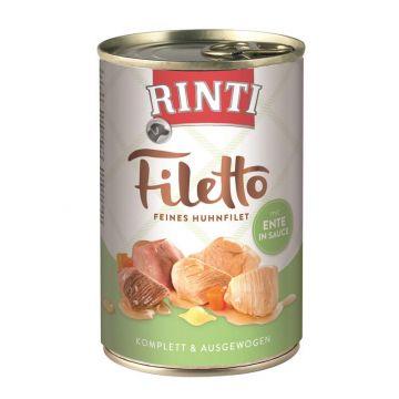 Rinti Dose Filetto Huhn & Ente in Sauce 420g  (Menge: 12 je Bestelleinheit)