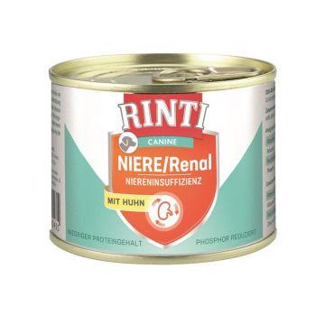 RINTI Canine Niere/Renal Huhn 185g (Menge: 12 je Bestelleinheit)