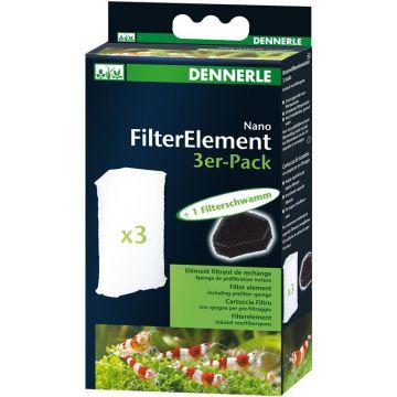 Dennerle Ersatzkartusche für Nano-Eckfilter (3er Pack)