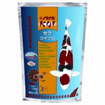 sera Koi Professional Frühjahr-/Herbstfutter 1000 g