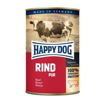 Happy Dog Dose Rind Pur 400g (Menge: 12 je Bestelleinheit)